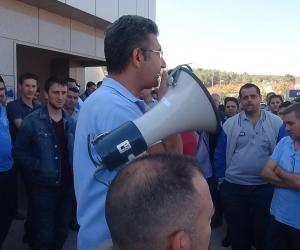 Metal işçileri MESS'in tekliflerine tepki gösteriyor…